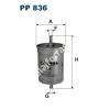 Filtron PP836 Filtron üzemanyagszűrő