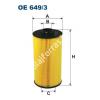 Filtron OE649/3 Filron olajszűrő