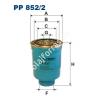 Filtron PP852/2 Filtron üzemanyagszűrő