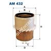 Filtron AM432 Filtron levegőszűrő