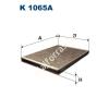 Filtron K1065A Filtron pollenszűrő