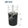 Filtron OP612 Filron olajszűrő