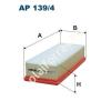 Filtron AP139/4 Filtron levegőszűrő