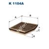 Filtron K1104A Filtron pollenszűrő