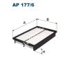 Filtron AP177/6  Filtron levegőszűrő