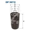 Filtron OP567/2 Filron olajszűrő