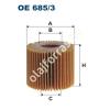 Filtron OE685/3 Filron olajszűrő