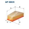Filtron AP080/9 Filtron levegőszűrő