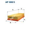Filtron AP080/3 Filtron levegőszűrő