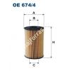 Filtron OE674/4 Filron olajszűrő