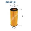 Filtron OE671/2 Filron olajszűrő