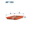 Filtron AP154 Filtron levegőszűrő