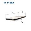 Filtron K1128A Filtron pollenszűrő