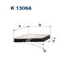 Filtron K1306A Filtron pollenszűrő