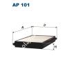 Filtron AP101 Filtron levegőszűrő