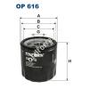 Filtron OP616 Filron olajszűrő