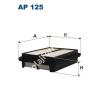 Filtron AP125 Filtron levegőszűrő