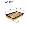 Filtron AP117 Filtron levegőszűrő