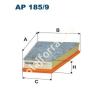 Filtron AP185/9 Filtron levegőszűrő