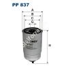 Filtron PP837 Filtron üzemanyagszűrő