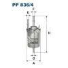 Filtron PP836/4 Filtron üzemanyagszűrő