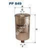 Filtron PP849 Filtron üzemanyagszűrő