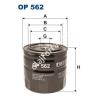 Filtron OP562 Filron olajszűrő