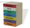 Gyógyszeradagoló torony heti színes téglatest gyógyászati segédeszköz
