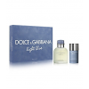 Dolce Gabanna Light Blue Pour Homme Gift Set (EDT 125ml + Stick75ml) férfi