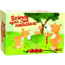 Logis Számolj együtt a Teddy mackókkal! kártyajáték