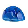 """ICO Írószer és jegyzettömbtartó, ICO """"Smart"""", áttetsző kék"""