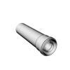 Ricom gas Ø 80/125 mm-es, 0,25m-es toldócső