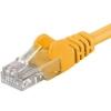 PremiumCord Patch UTP Kábel CAT6, 10m, Sárga
