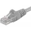 PremiumCord Patch UTP Kábel CAT6, 2m, Szürke