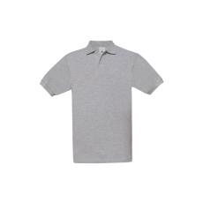 B&C B&C Safran piké póló, heather grey