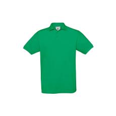 B&C B&C Safran piké pamut póló, kelly green