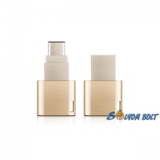 ADATA 64GB USB3.1 Type-C Arany (AUC350-64G-CGD) Flash Drive pendrive