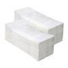 Fehér, kétrétegű hajtogatott papírtörölköző 3.200 lap