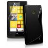 CELLECT Nokia Lumia 520 TPUS szilikon hátlap, Fekete