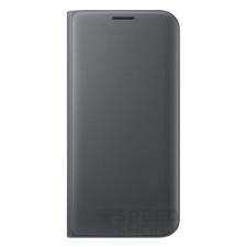 Samsung Galaxy S7 Edge gyári flip tok, fekete, EF-WG935PB, (SM-G935) tok és táska