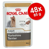 Royal Canin Breed Yorkshire Terrier 48 x 85 g - 48 x 85 g