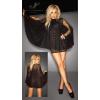 Noir - tündéri csipke ruha (fekete) (XXXL)