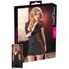Cottelli - Masnis, csipkés kombinált ruha (fekete) (M)