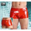 Lakk, zsebes boxer - piros (S)