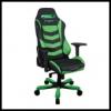 DXRacer OH/IS166/NE IRON Gaming Chair - fekete / zöld
