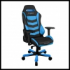 DXRacer OH/IS166/NB IRON Gaming Chair - fekete / kék