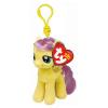 Ty. Plüss figura My little pony Lic Clip 11 cm - Fluttershy