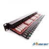 KELine KE-Line 50 portos ISDN CAT3 Patch panel RJ45/u