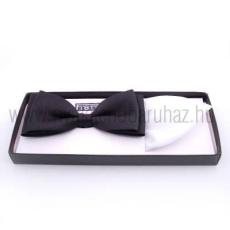 Krawat Díszdobozos csokornyakkendõ szett - Fekete-fehér