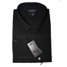 Goldenland rövidujjú ing - Fekete